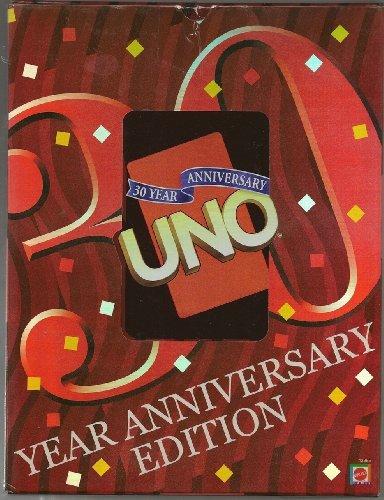 (UNO 30 Year Anniversary Edition in Anniversary Storage)