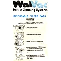 57162 WalVac Vacuum Cleaner Replacement Bag (3 Pack) by WalVac