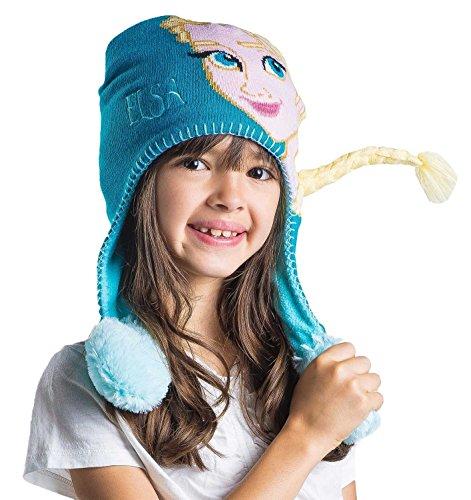 Disney Frozen Elsa Kids Flipeez Action Hat, Age - Hat Elsa