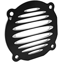 Arlen Ness 03-901 Black Deep Cut Flat Front Speaker Grille