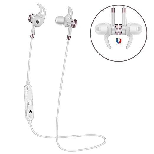 90 opinioni per Cuffie Sportive ,Yosou bluetooth Auricolari magnetico Wireless Stereo con