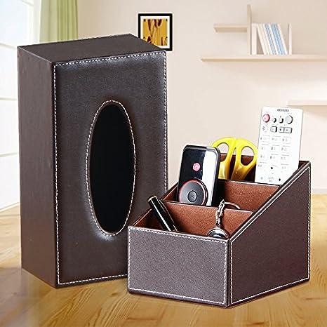 WangYangDaHai Cajas de Pañuelos, Mesa de café, Caja de Almacenamiento Conjunto de Adornos de Escritorio,G: Amazon.es: Hogar