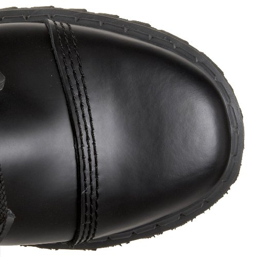Pleaser Mens Grus-14 Stövlar Svart Läder