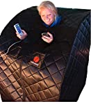 Therasage Thera360 Portable Full Spectrum Infrared Sauna Black