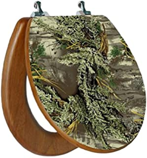 Amazon.com: Rivers Edge Wood Camouflage Toilet Seat: Sports & Outdoors