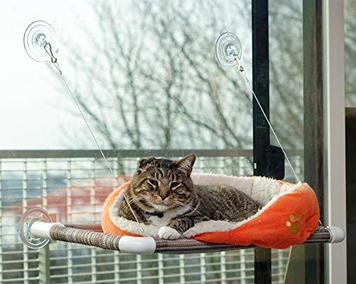Kitty Cot Original World's Best Cat Perch Black Fabric Color
