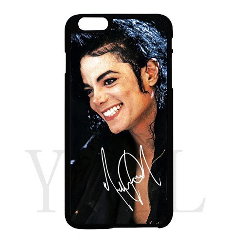 [Michael Jackson signed HD image phone cases for iPhone 6 plus(tpu soft case)] (Rockin Robin Costumes)