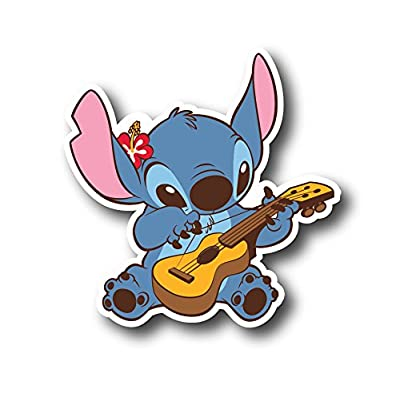 "PICAVINCI 3""Stitch Decal Sticker for case car laptop phone bumper etc 0091: Kitchen & Dining"