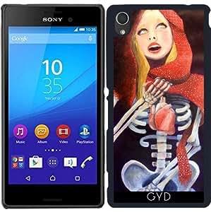 Funda para Sony Xperia M4 Aqua / Aqua DUAL - Libre desnuda by pablofpoyatos
