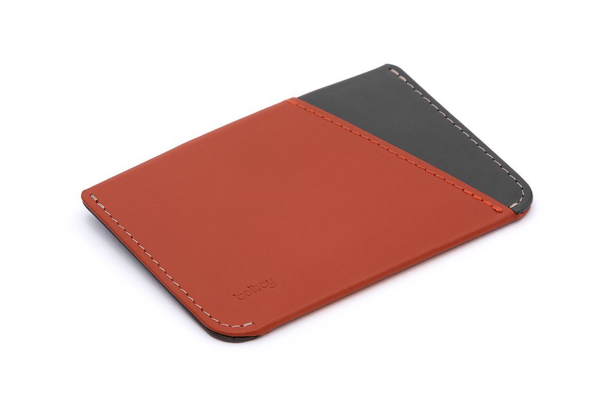 Bellroy Leather Micro Sleeve Wallet Tamarillo