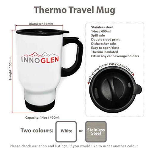 Beauty Beauty Spa White Thermo Travel Mug 14oz o689tw by INNOGLEN (Image #3)
