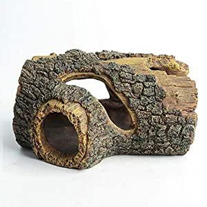 ... decoración Tronco de Resina Madera de Deriva Adorno Acuario Adorno pecera decoración Accesorios Mascotas Suministros: Amazon.es: Productos para mascotas