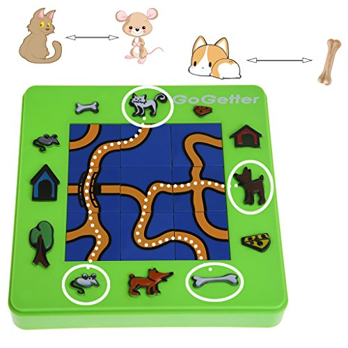 Cencity Go Getter Cat and Mouse Toy Board Cartoon Puzzle Maze Intelligence Game Gift  for Kids, Raves, Birthday, Wedding, Christmas, Halloween, Children Party Decor Toy ()