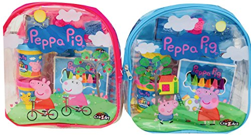 NEW Peppa Pig Mini Activity & Bright and Bold Arts & Crafts Back to School Bundle
