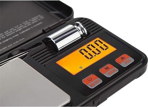 RuiJingKE Caja De Herramientas Balanza Electrónica Portátil, De Alta Precisión, Dijo Joyería De 0,01 G