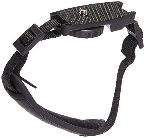 JJC HS-M1 Microfiber PU Leather Soft Camera Hand Grip Strap for Mirrorless Cameras (Black) from JJC