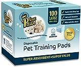 PrincePaws Pet Training Pads - Dog Training Pads with Adhesive Tape - 100 Large 24