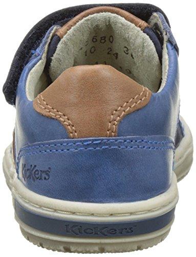 Kickers Igorlow - Botas Niños azul (Marine)