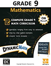 Dynamic Math Workbook - Complete Grade 9 Mathematics Curriculum (ON Edition)