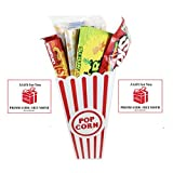 Movie Night Popcorn, Candy And Redbox Movie Gift Basket ~ Includes Movie Theater Butter Popcorn, Concession Stand Candy and a Gift Card for 2 Free Redbox Movie Rentals (Sour Patch Kids) offers