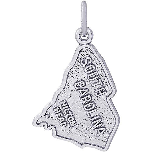 Hilton Head Charm (Rembrandt Charms Hilton Head Charm, 14K White Gold)