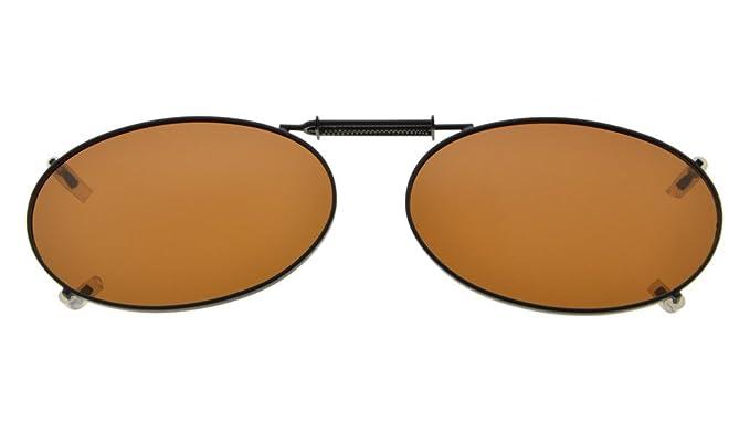 Eyekepper marco de metal Rim lente polarizada clip en gafas ...