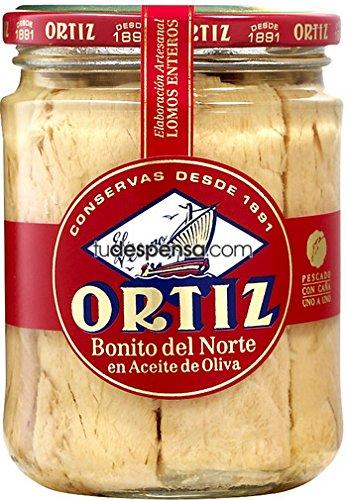 Ortiz, Tuna Bonito Del Norte In Olive Oil Jar, 7.76 ()