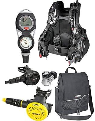 Mares Dragon BCD, Puck Comp, Instinct 12S Regulator, Rover Octo, Free Reg Bag (Small)