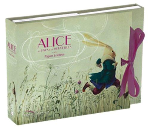 Papier a Lettres - Alice aux Pays des Merveilles