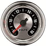 Auto Meter 1282 American Muscle 2-1/16'' Voltmeter Gauge