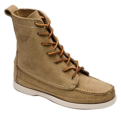 Red Wing 09170 Men's Leather Boat Boot US 11 UK 10 EU 44.5 Width E Camel by Red Wing Shoes