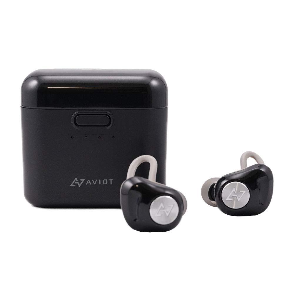 AVIOT 日本のオーディオメーカー Bluetooth イヤホン 完全ワイヤレス TE-D01d (ブラック) B07MJQ1GJL ブラック