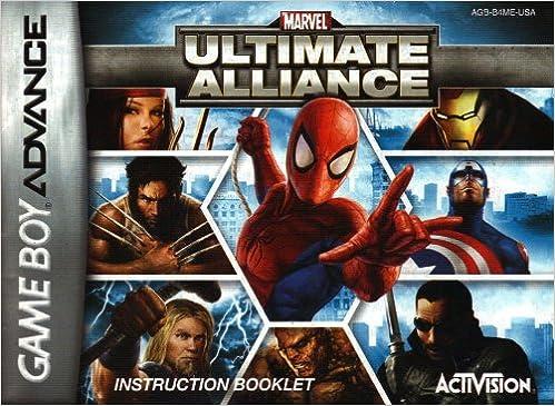 ultimate alliance gba