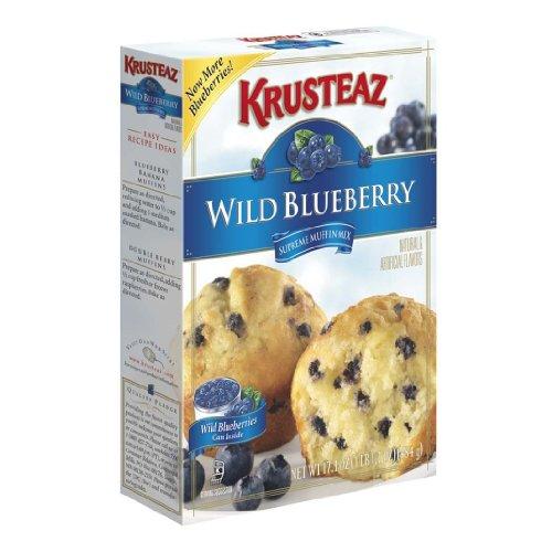 (Krusteaz Wild Blueberry Supreme Muffin Mix)