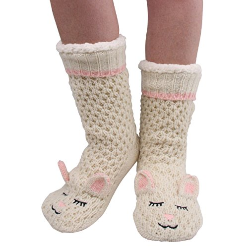 and Pink One Pair Socks Pink Bleecker Jane Size Slipper 2 fwqBqgO