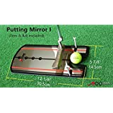 A99 Golf Putting Mirror Training Alignment New Aid Practice Trainer Portable