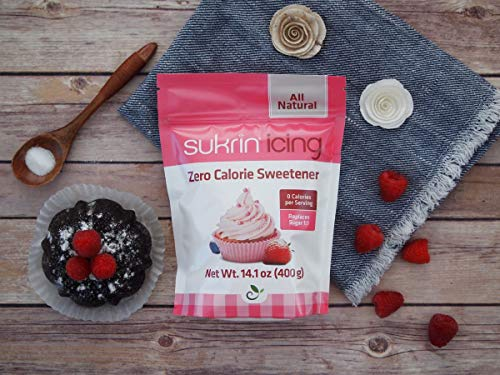 Sukrin Icing (Melis) - 400 G All Natural Powdered Sugar Substitute (1 Pack) by Sukrin (Image #2)
