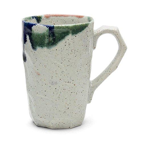 Unique Japanese Design 12 Oz. Boulder Tall Mug - White