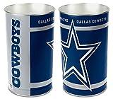 """WinCraft Inc. Dallas Cowboys 15"""" Waste Basket"""