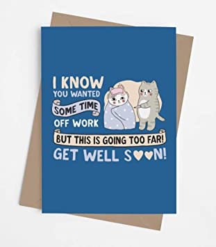 Good recovery card with envelope