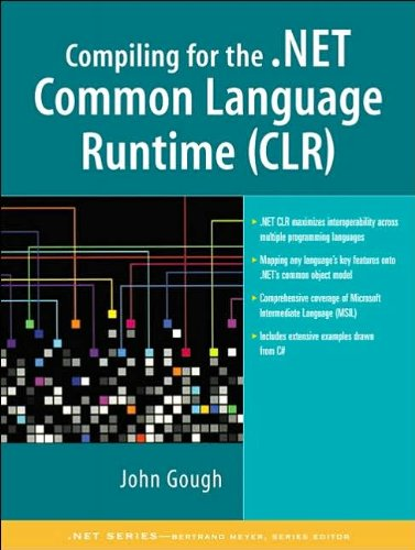 Compiling for the .NET Common Language (text only) by J.Gough pdf