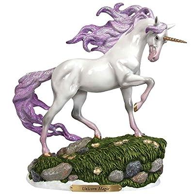 Enesco Trail of Painted Ponies Unicorn Magic Stone Resin Figurine, White
