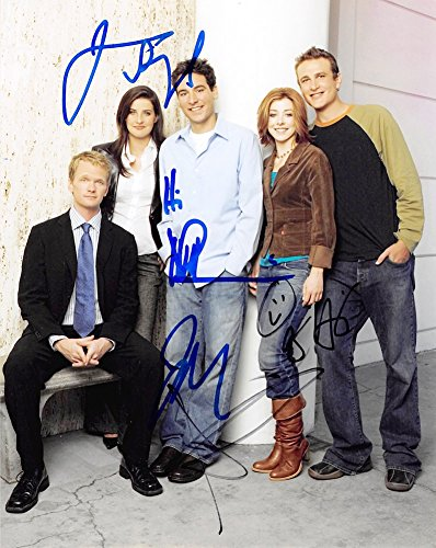 HOW I MET YOUR MOTHER - Cast AUTOGRAPHS Signed 8x10 Photo B