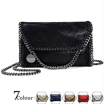 Wyhui New Women Message Pu Fashion Portable 2 Chains Woven Shoulder bolsa feminina carteras/mujer