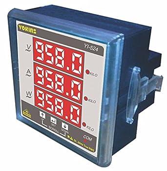 YOKINS YI-524, Digital Single Phase VAW Multifunction meter, AC 5A