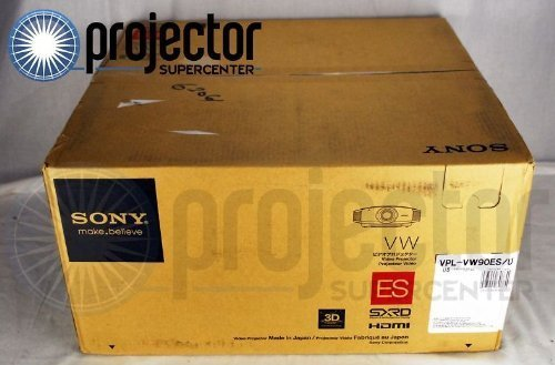 VPL-VW90ES 3D Ready SXRD Projector - 1080p - HDTV - 16:9 (Projector Sony 3d)