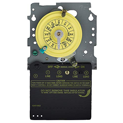 Intermatic T104M Mechanical Time Switch Mechanism Only ()