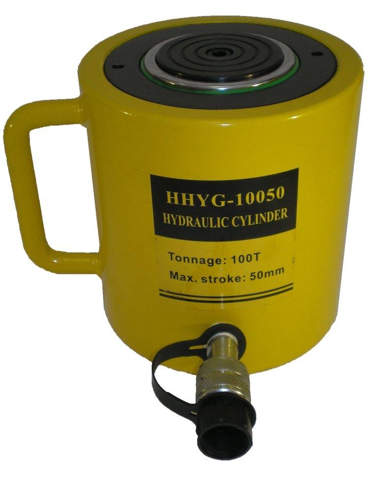 100 tons 2'' stroke Single Acting Hydraulic Cylinder Lifting Jack Ram YG-10050
