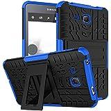 "KATUMO Carcasa Transparent Tablet Samsung Galaxy Tab A 7.0""(SM-T280/285), Funda Silicona para Samsung Tab A 7.0"" Cubierta Carcasa Goma Case Cover Funda Protectora Estuche Caso-Azul"