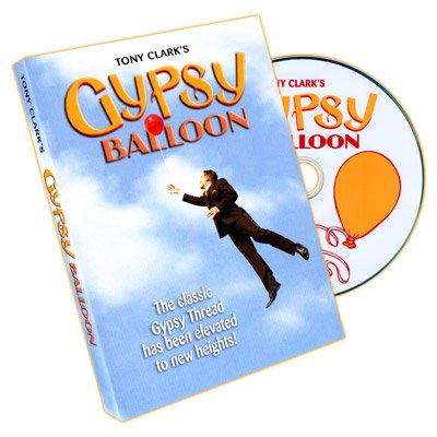 Gypsy Balloon by Tony Clark - DVD: Toys & Games